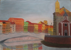 Görömbey Réka / Pisai naplemente